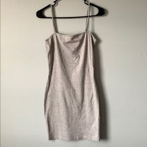 Topshop grey dress!